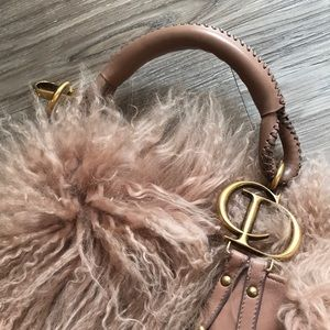 Christian Dior fur bag (EUC)